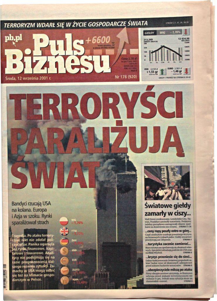 11 września 2001 Puls Biznesu