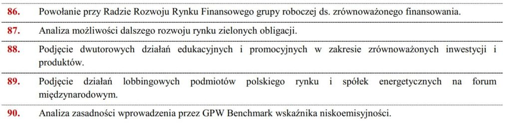 Zrównowazone finanse w polskiej strategii